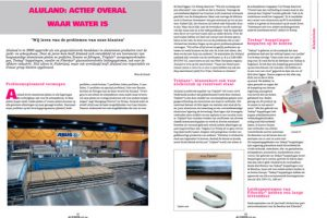 Article about Aluland in ALURVS.nl, the print- anden onlinemagazine for the aluminum and stainless steel industry.